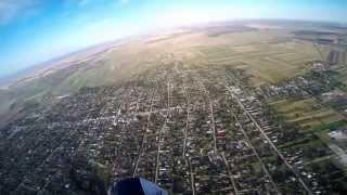 Raidul Dunarii cu Paramotorul 2014