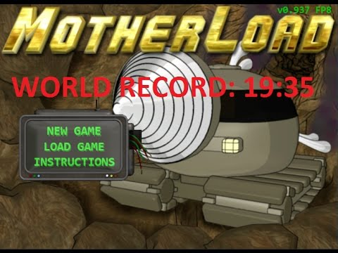 Motherload Speedrun Ex-World Record - 19:35
