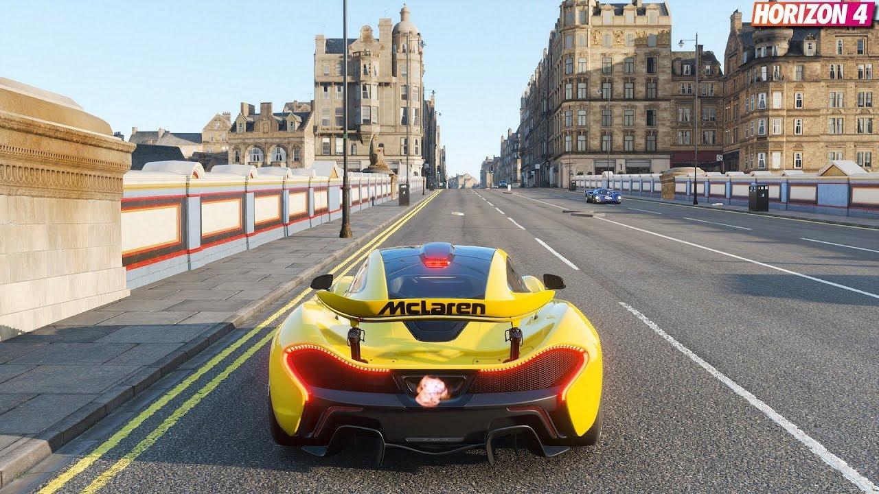 Forza Horizon 4 - McLaren P1 | Gameplay