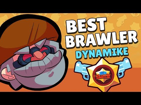 BEST BRAWLER SERIES! How to use DYNAMIKE for SMASH & GRAB! Brawl Stars Beginner Strategy Guide!