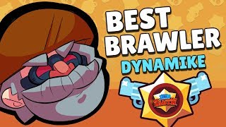 BEST BRAWLER SERIES! How to use DYNAMIKE for SMASH u0026 GRAB! Brawl Stars Beginner Strategy Guide!