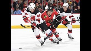New Jersey Devils vs Chicago Blackhawks - November 12, 2017 | Game Highlights | NHL 2017/18