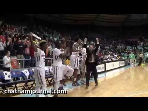 Terry Sanford High School wins 2015 NCHSAA 3A Basketball Championship