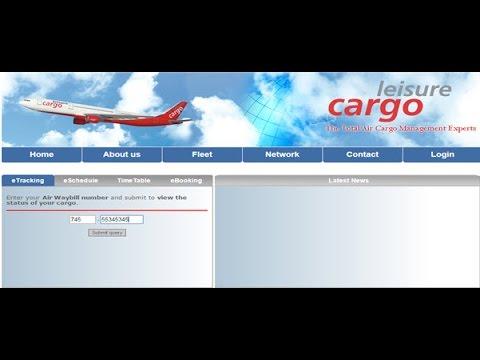 Leisure Cargo Tracking,Leisure Air Cargo Tracking Status