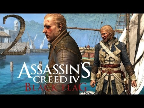 Assassins Creed 4 Black Flag: Guide 2 - Sequence 2 - Memory 1 + Memory 2