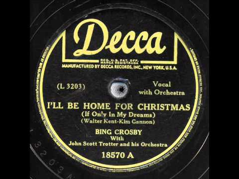 bing crosby ill be home for christmas danny boy - Bing Crosby I Ll Be Home For Christmas