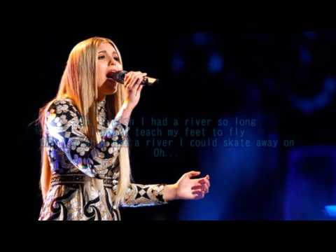 Brennley Brown - River (The Voice Performance) - Lyrics