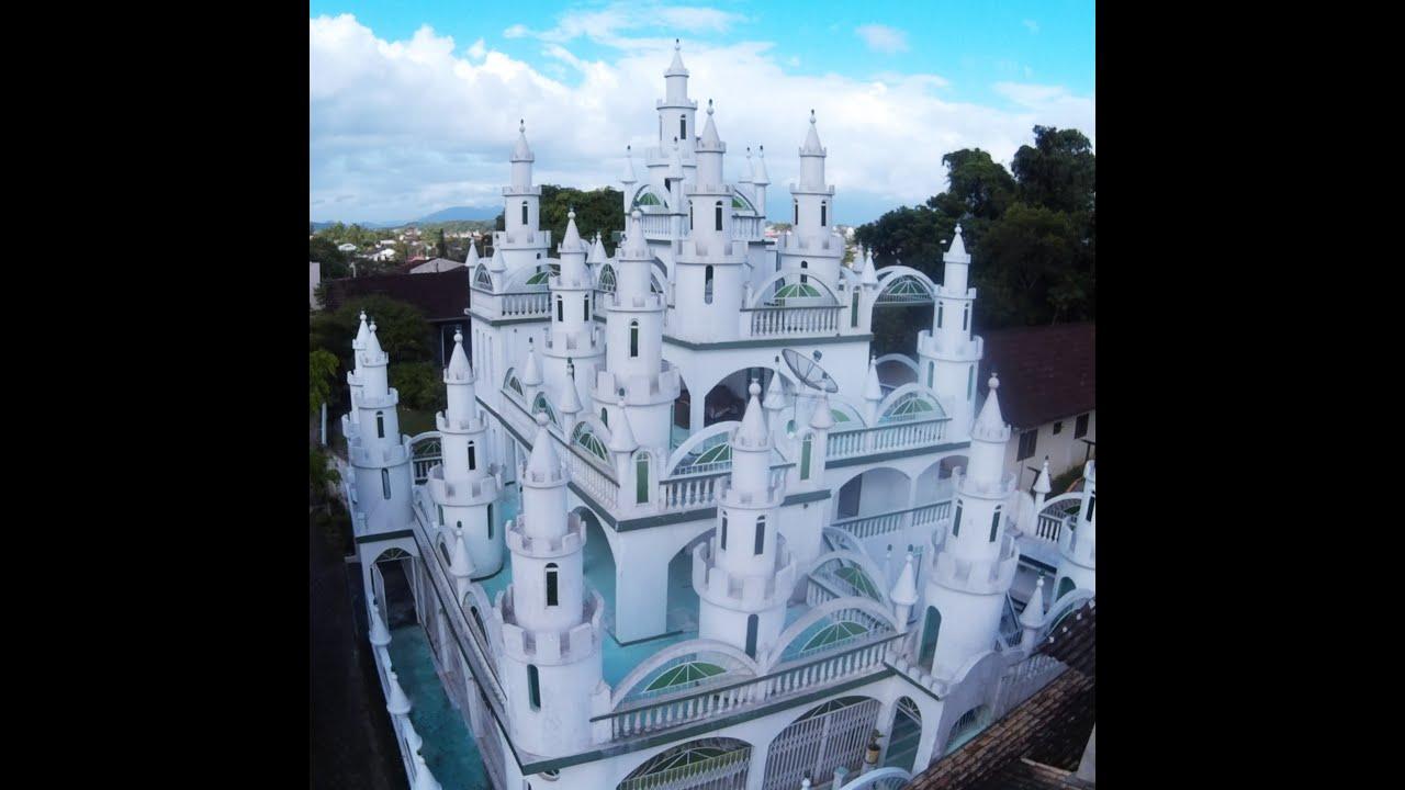 Castelo Coradelli Com Drone.