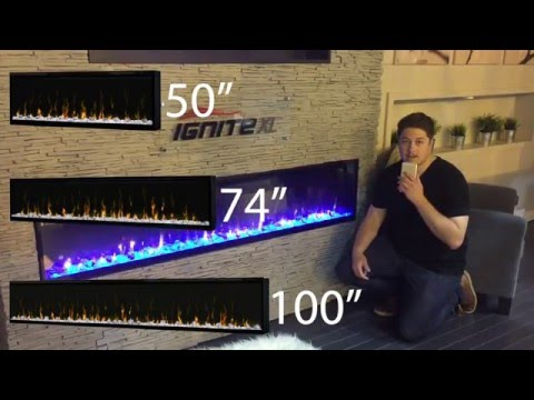 Dimplex Ignite XL Built in Electric Fireplace Flush mount ...