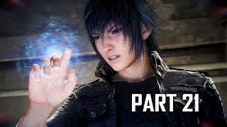Final Fantasy 15 Walkthrough Part 21 - Ring of Lucii (FFXV PS4 Pro Let's Play Commentary)