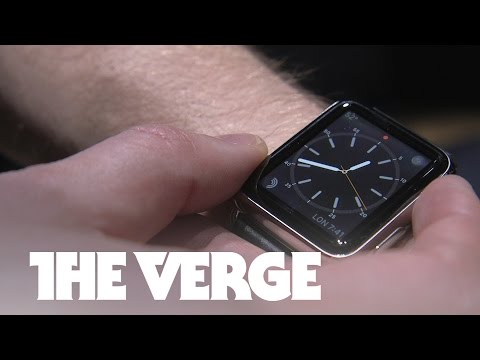 Apple doesn't want to talk about the real use for the Apple Watch