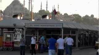 TURKEY ISTANBUL FISHING Стамбул Рыбалка по-турецки Ставрида 23.06.2012
