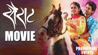 Sairat Movie (2016)   Promotional Events   Rinku Rajguru, Akash Thosar, Nagraj Manjule