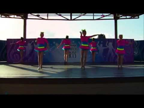 Brookfield Dance Academy performing at Downtown Disney