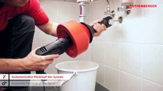 Rothenberger Rospimatic – Drain Cleaning Machine 7.8576