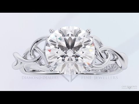 Most Beautiful Platinum Diamond Engagement Ring Collection 2018