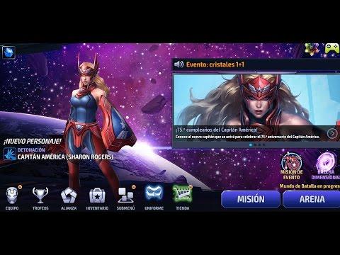 SHARON ROGERS en Máximo Poder 6 Estrellas y Tier2 Análisis de Poder y Habilidades Thanos Infinity