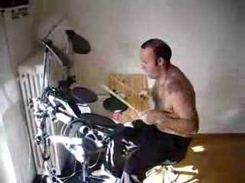 Dingo - Awesome Australian Drummer rocks on Digi Drums