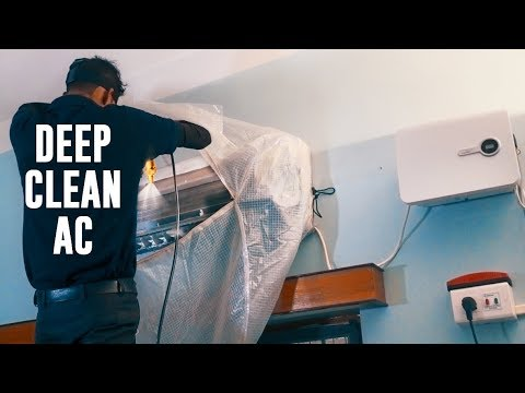How To AC service at home - DEEP CLEAN SPLIT AC #urbanClap