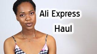 Natural Hair| first Aliexpress haul ????