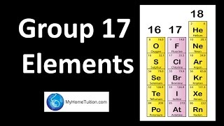 Group 17 Elements | Periodic Table