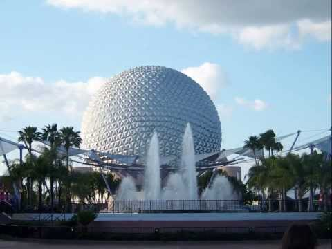 Epcot Center Innoventions Area Complete Music Loop