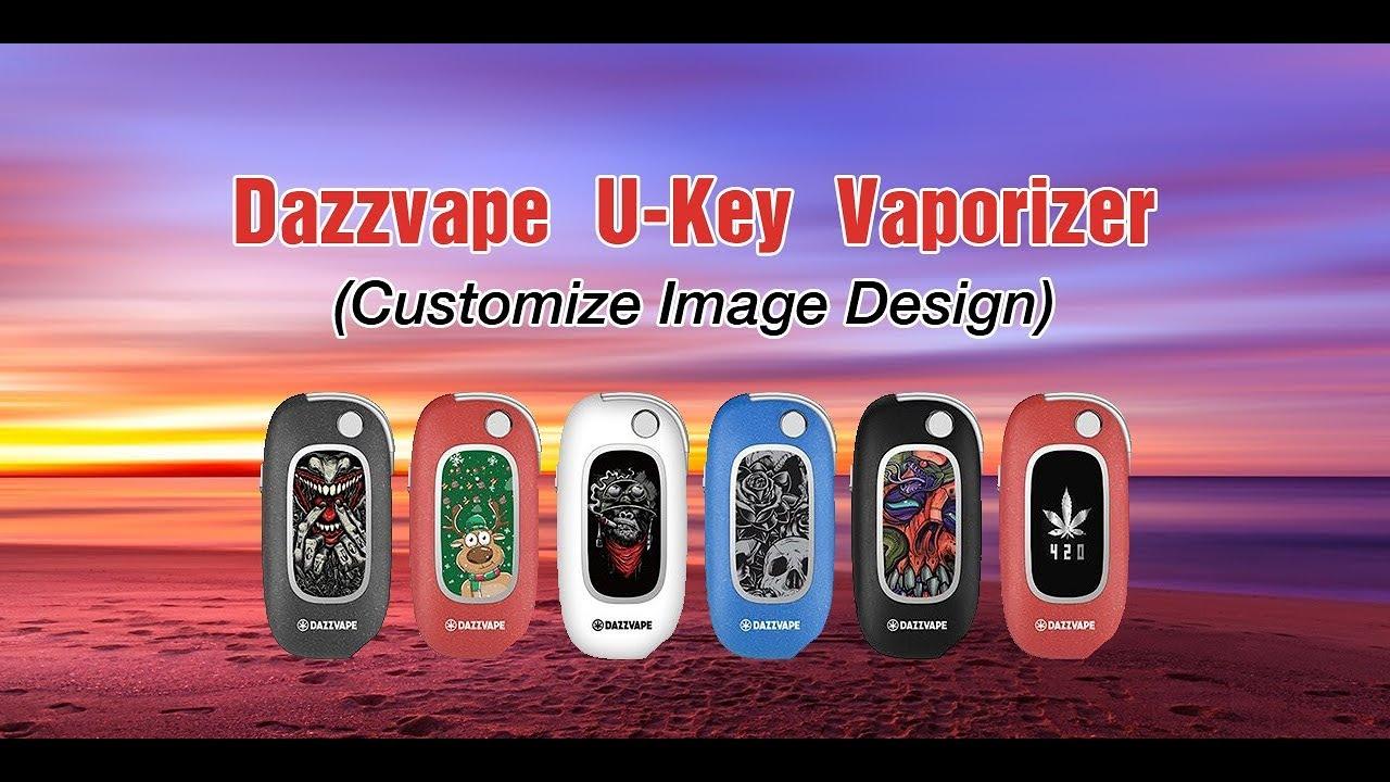 Dazzvape U-Key Vaporizer (Customize Image Design)