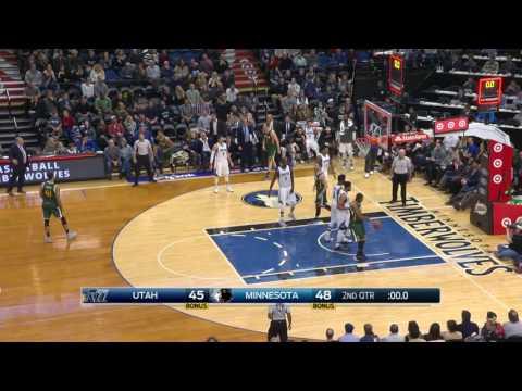 Utah Jazz vs Minnesota Timberwolves | January 7, 2017 | NBA 2016-17 Season