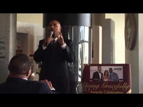 Donovin Darius - 2016 Giving Gracefully Awards at SuperBowl 50