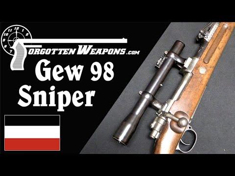 German World War One Gewehr 98 Sniper
