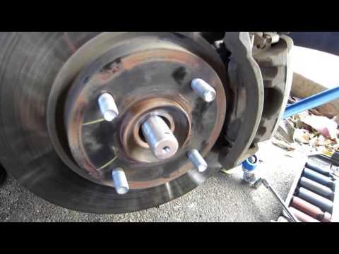 2007 2012 Nissan Sentra passenger side CV axle installation