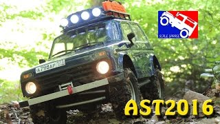 Lada Niva Scale Truck MST CMX at AST2016 - 1:10 Tiny Truck