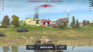 Тест танков world of tanks blitz на Nvidia shield tablet K1