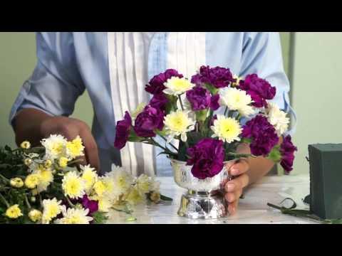 อบรมการจัดดอกไม้ 1