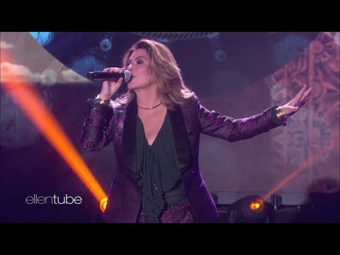 Shania Twain - Life's About To Get Good - The Ellen DeGeneres Show - Sept 29th 2017