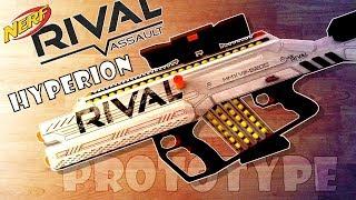 NERF RIVAL HYPERION | SNIPER + ASSAULT RIFLE Prototype/Design #rivalweeks