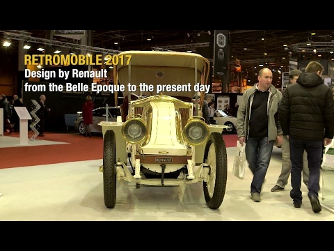 Retromobile 2017: the best of Renault Design // Salon Retromobile : le Design selon Renault