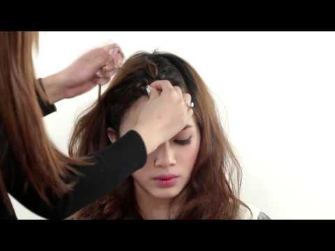 Cách tết tóc mái hàn quốc đẹp đơn giản cho bạn gái dễ thương mùa hè 2014