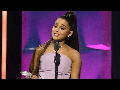Ariana Grande Billboard Woman Of The Year Accepting Speech