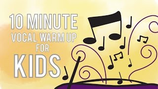 10 Minute Vocal Warm Up for Kids - Free Voice Lessons with Cherish Tuttle