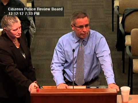 Citizens Police Review Board 12/12/12 Meeting