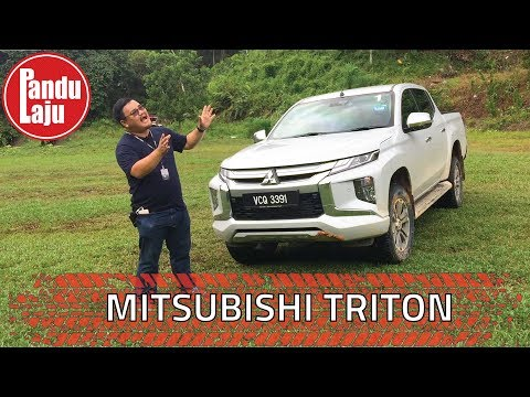 Mitsubishi Triton 2019 - Inilah Pandangan Abang Mengenai Trak Pikap Yang Seksi & Garang