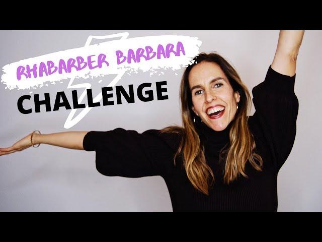 Rhabarber Barbara CHALLENGE ⚡️¡Española recita el trabalenguas MÁS DIFÍCIL en alemán!