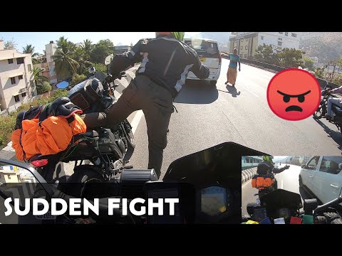 Sudden Road Fight In Salem - Chennai To Kodaikanal In Duke 250 | Collab Ride |Tamil |Enowaytion Plus