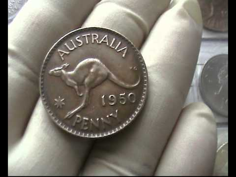 1950 One Penny-Australian (Georgevi) Gem Grade Coin For Sale - YT