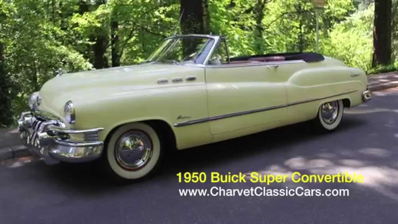 1950 Buick Super Convertible For Sale Youtube