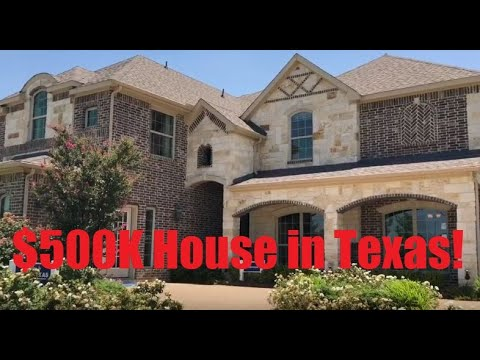 What Does A $500k House Look Like In Dallas, Texas?