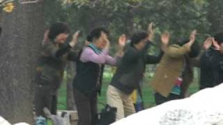 Extreme China  - Voodoo healing dance near Tiananmen Square