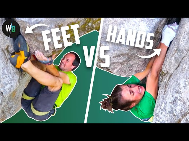 Feet first VS hands first || What's the best way to climb?