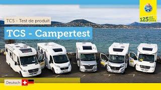 Camping-cars semi-intégrés 2021 | comparaison de 5 campers